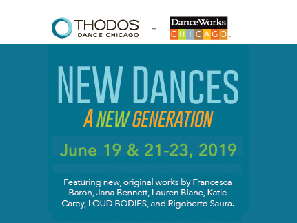 NEW Dances Performances on June 19th and 21st to 23rd featuring 6 new world premieres!